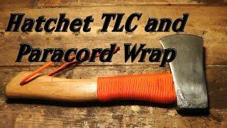 Hatchet TLC and Paracord Wrap