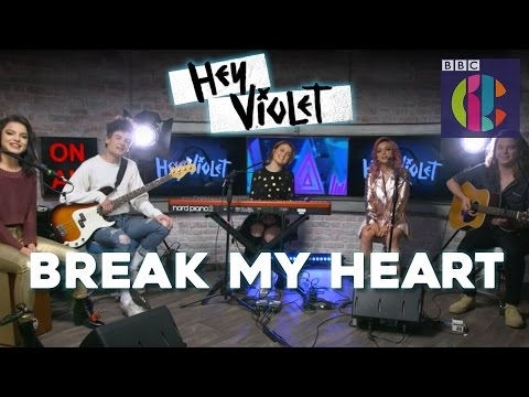 Hey Violet | Break My Heart LIVE