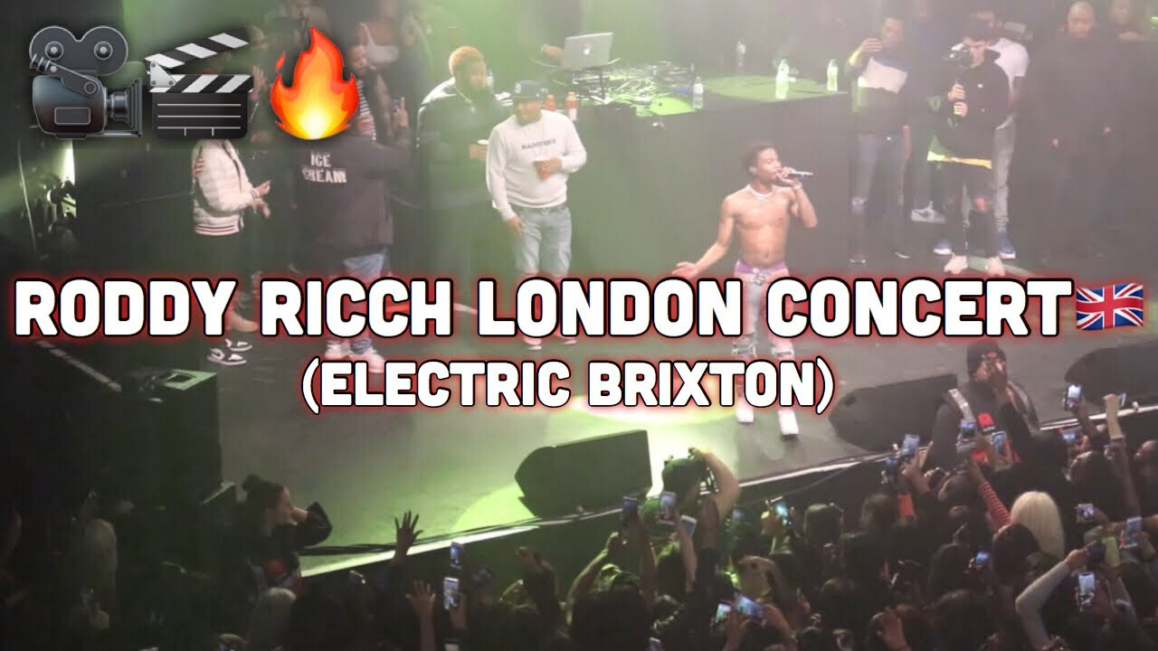 Roddy Ricch London Concert Live Show (Electric Brixton) @AcesizOfficial