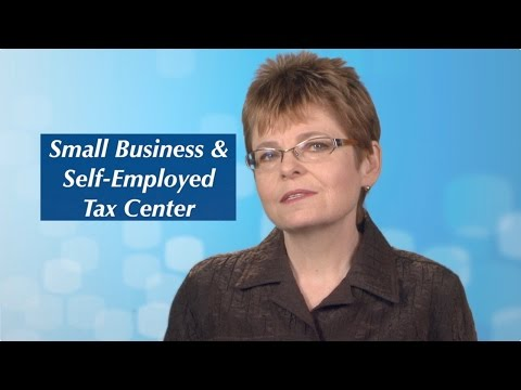 IRS Small Business Self-Employed Tax Center