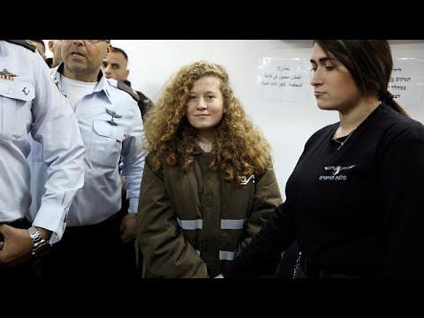 Jovem palestiniana condenada a 8 meses de prisão