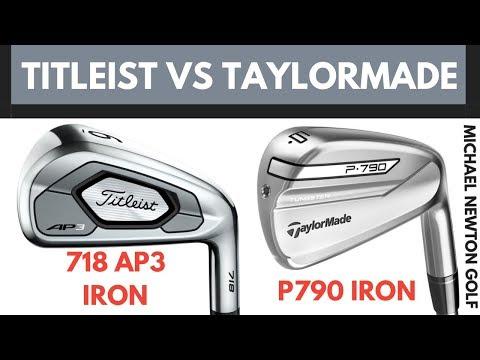 Titleist 718 AP3 Iron VS TaylorMade P790 Iron - Head To Head