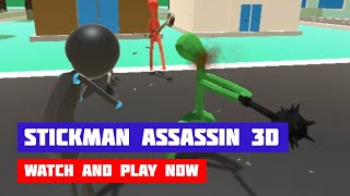Stickman Armed Assassin 3D · Game · Gameplay