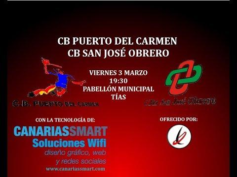 BALONMANO: Final Juvenil Femenina: Puerto del Carmen vs San José Obrero