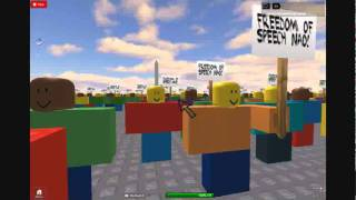 luvsonicunderground's ROBLOX video Martin Luther King