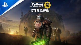"Fallout 76: Steel Dawn – ""Rahmani Shin and Valdez"" Reveal Trailer | PS4"