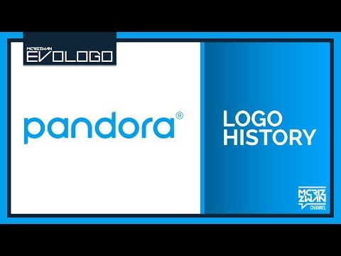 Pandora Radio Logo History | Evologo [Evolution of Logo]