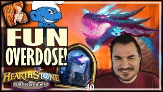 SMURF DRAGONS = FUN OVERDOSE! - Hearthstone Battlegrounds
