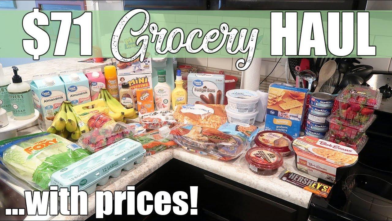 71 Walmart Kroger Grocery Haul I M Starting Weight