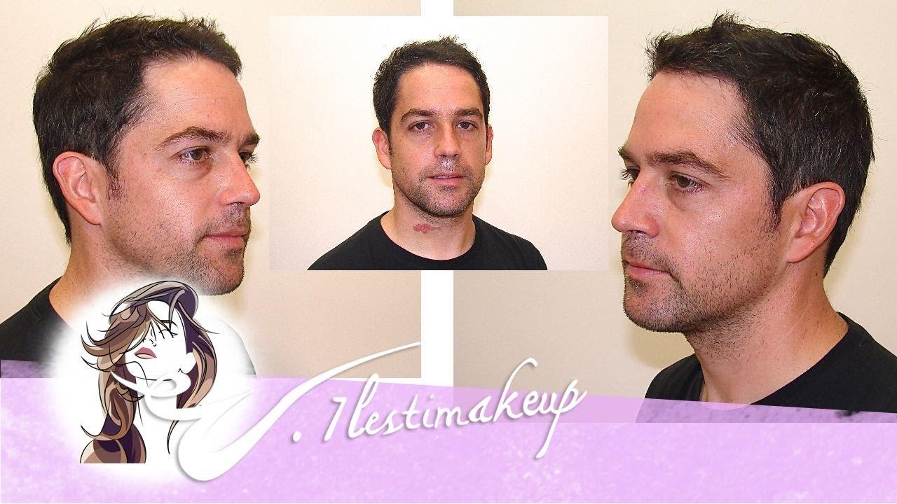 Corte de pelo a tijera a caballero Man hair cut YouTube
