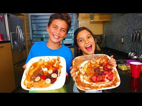 HaCiendo PIZZAS LOCAS en las VaCaCioNes ¡Super facil y Divertido! DIY