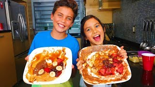 Cooking DELICIOUS Sweet Pizza ¡Fun and Easy!