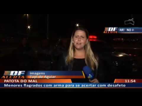 DF ALERTA - Polícia prende turma com arma antes de acerto de contas