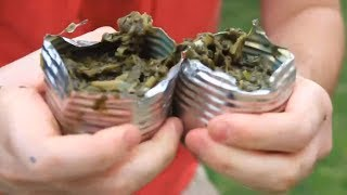 How to Open a Can with Your Bare Hands - Zombie Survival Tips #28
