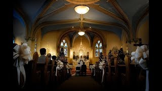 Православное венчание в Черногории Виктора и Елены
