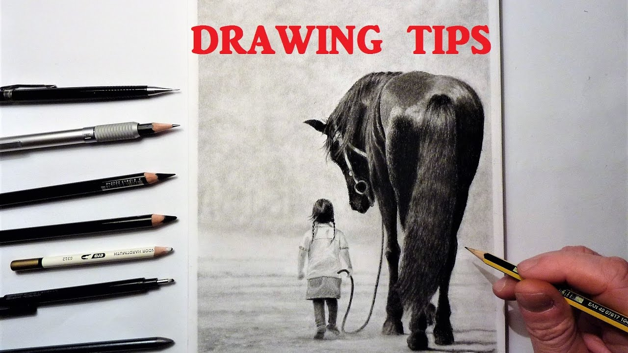drawing tips and techniques how to draw graphite charcoal and