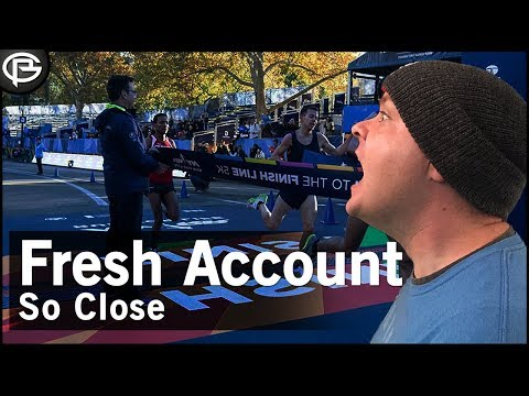Fresh Account - Finish Line in Sight