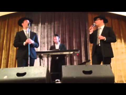 Simcha Leiner & Dovid Gabay sing Mi Yaaleh