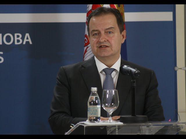 [10.02.2020.] Говор министра Дачића приликом посете МСП Р. Италије Луиђија Ди Маја