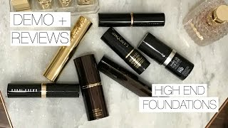 HIGH END FOUNDATION STICKS | Hits & Misses- Demo + Mini Reviews