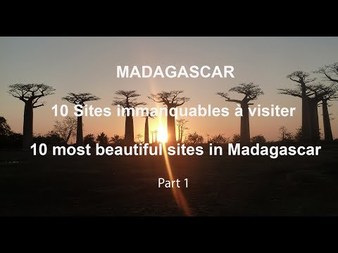 WONDERFUL MADAGASCAR - Best of Madagascar Island - 10 Sites à visiter - Part 1