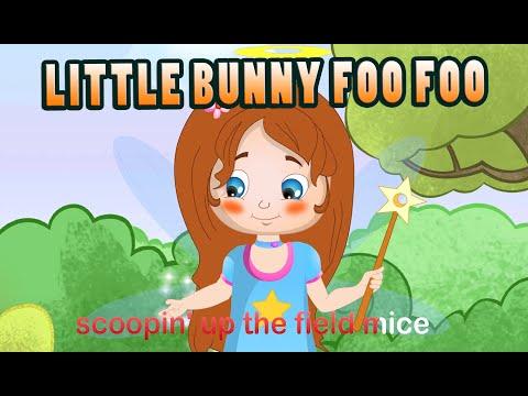 Little Bunny Foo Foo (HD with Lyrics) - Nursery Rhymes by EFlashApps