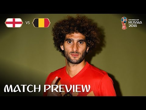 Marouane FELLAINI (Belgium) - Match 45 Preview - 2018 FIFA World Cup™