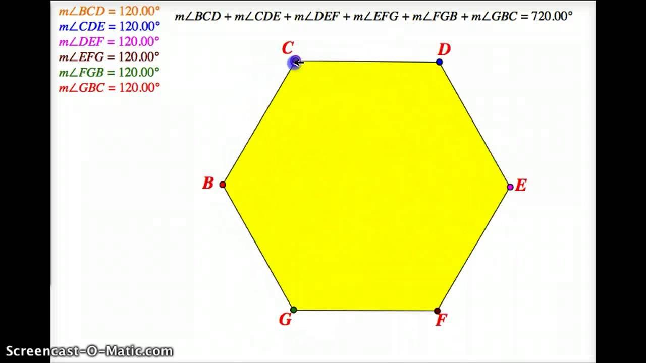 Hexagon Degrees