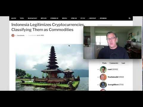 Indonesia Legitimizes Cryptocurrencies