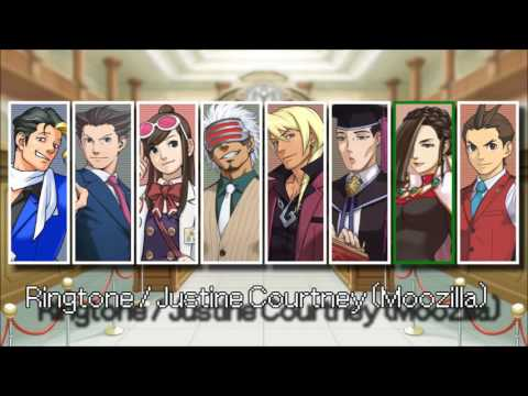 Ace Attorney: All Ringtones 2013