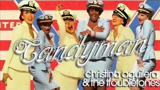 Candyman - Christina Aguilera & The Troubletones (Glee)