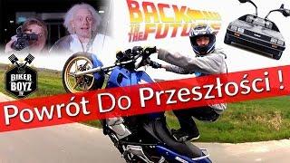 POWRÓT DO PRZESZŁOŚCI - GNÓJ SQUAD / Honda CB 500 STUNT