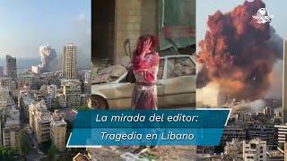 La explosión en Líbano ocurre cuando el país atraviesa por un mal momento resultado de la crisis económica que se vive, los problemas con Hezbolá y la pandemia por Coronavirus
