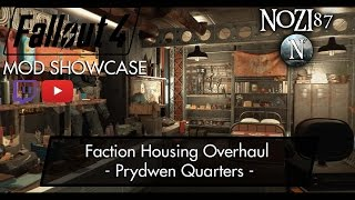 Fallout 4 Mod Showcase Faction Housing Overhaul - Prydwen Quarters by Elianora