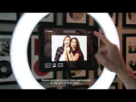 Snap Pic iPad App From Photo Booth Expo 2017 | Disc Jockey News