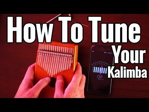 How To Tune a 17 Key Kalimba + How To Fix Kalimba Buzz