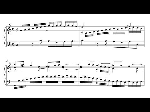 Bach: Sinfonia 1 in C Major, BWV 787 (Urtext Edition)