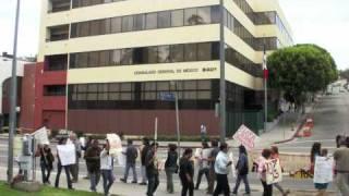 Protesta Contra la Violencia Narco en Mexico - L.A. Alta Califaz 8 Mayo 2011