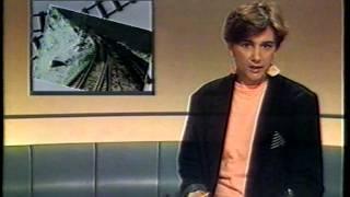 BRT journaal (Siel Van der Donckt) + zendersluiting TV1 (10 juli 1988)