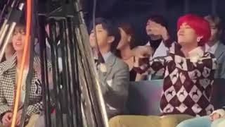181201[MMA's]BTS reaction to BLACKPINK DDU DU DDU at MelonMusicAwards MMA2018