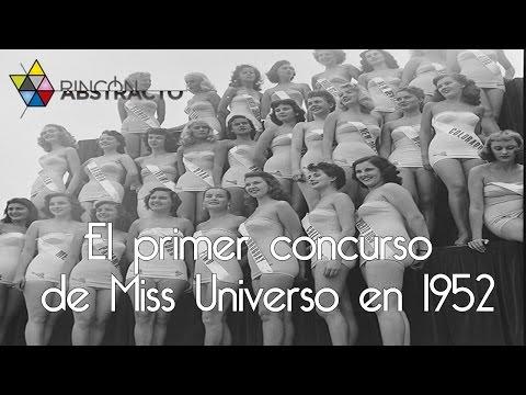 El primer concurso de Miss Universo en 1952