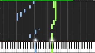 The Sound of Silence - Simon & Garfunkel [Piano Tutorial] (Synthesia) // Fontenele NXT