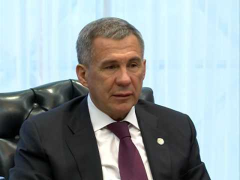 AmCham With Tatarstan President Rustam Minnikhanov
