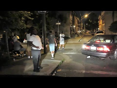 PHILADELPHIA'S WORST HOOD AFTER DARK