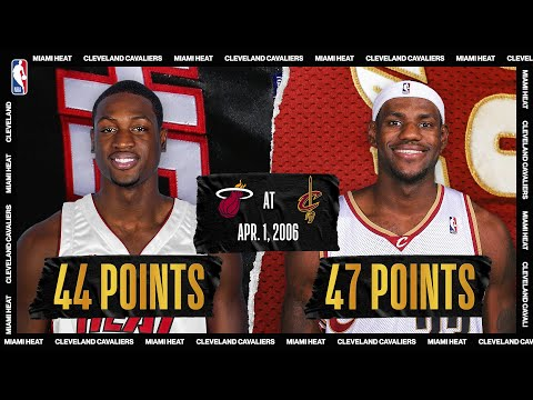 LeBron James (47 PTS) & Dwyane Wade (44 PTS)  Duel | #NBATogetherLive Classic Game