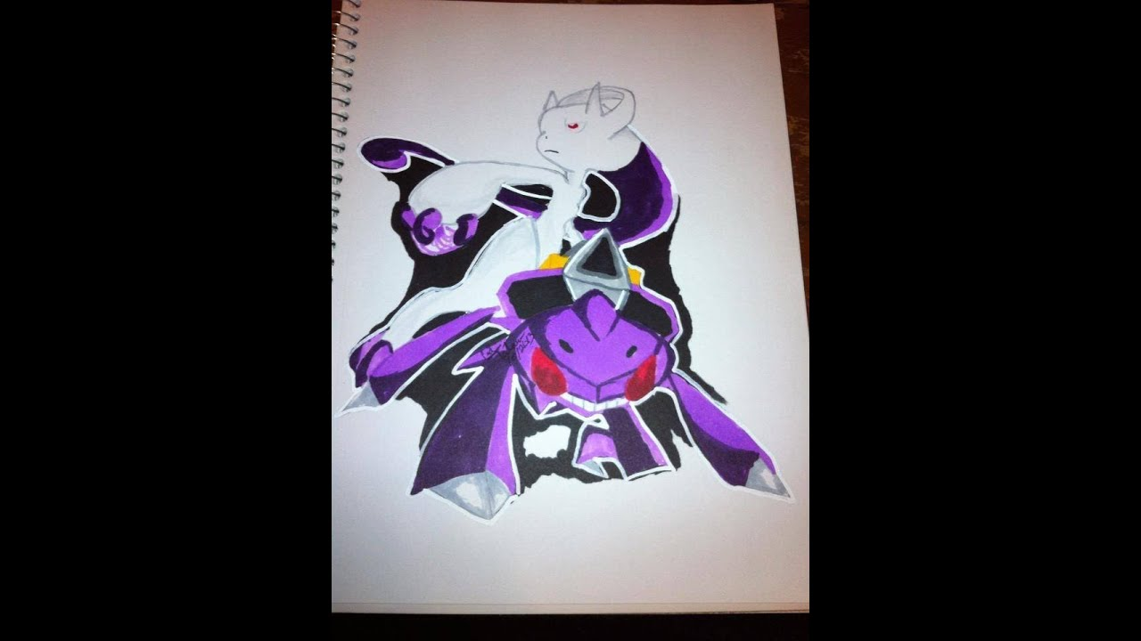 Copic Marker Speed Color Pok 233 Mon X And Y Genesect And Mega