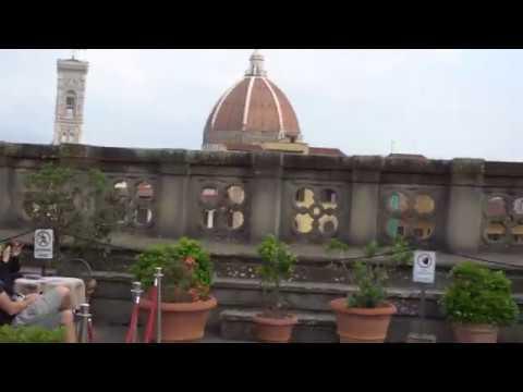 2018 11 Maggio Firenze Terrazza Degli Uffizi Youtube