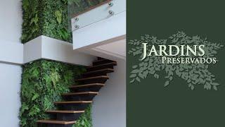 Jardim Vertical Preservado do Apartamento de Larissa