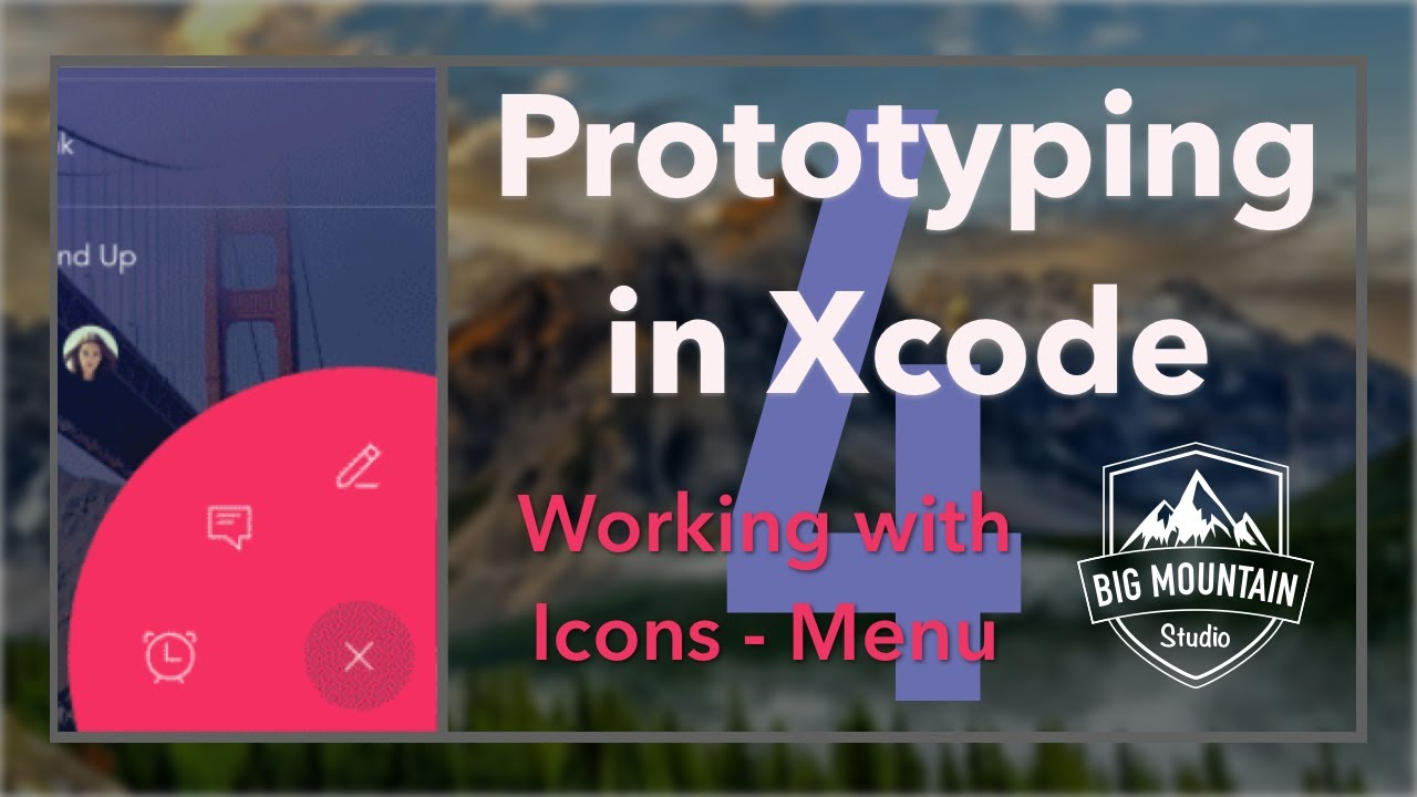 Prototyping Apps in Xcode: Working With Icons and Sketch: Part 4 (iOS,  Xcode 8, Swift 3)