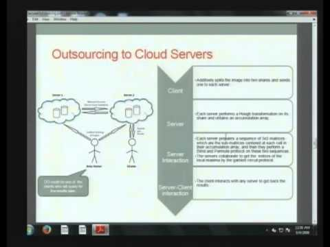 2014-01-29 CERIAS - Secure and Private Outsourcing to Untrusted Cloud Servers